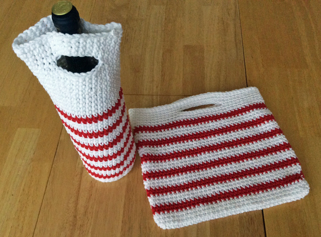 Peppermint for the holidays and a new pattern!